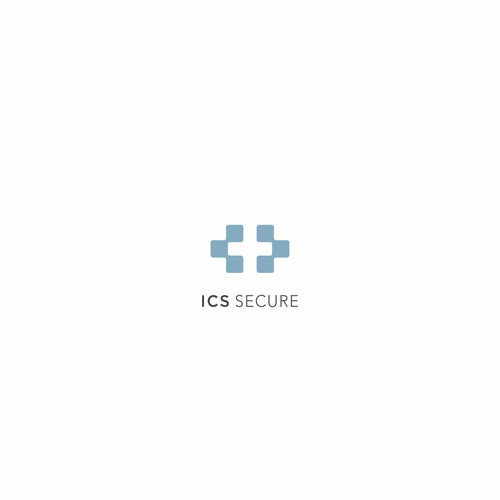 Cross brand with the title 'Logo for Swiss Technology Security'