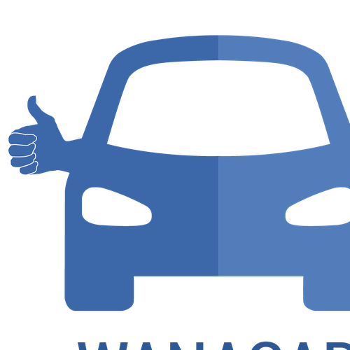 Second-hand logo with the title 'Wanacar'