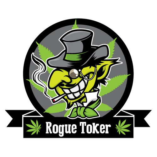 Creepy design with the title 'Rogue Toker'