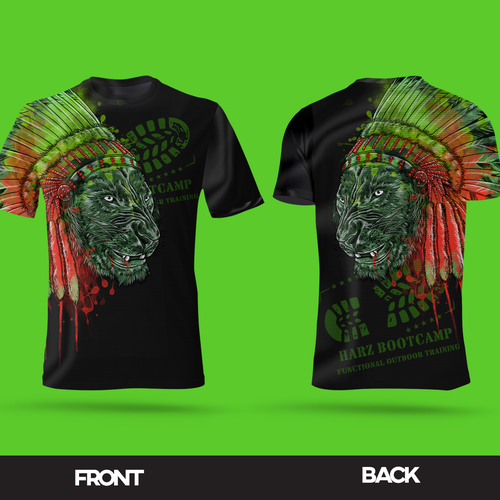 Sublimation design with the title 'Bootcamp sublimation'