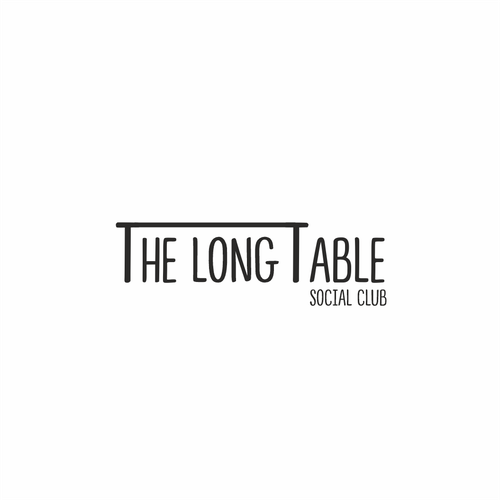 Table logo with the title 'The Long Table'
