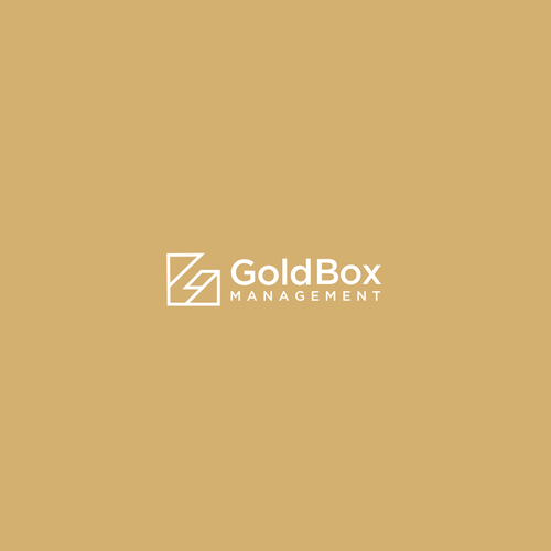 Celebrity logo with the title 'GoldBox Management'