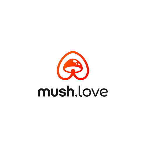 Love design with the title 'Mush Love'