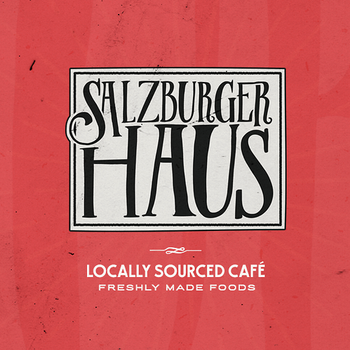 Food design with the title 'Salzburger Haus'