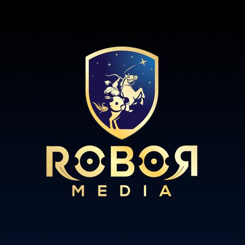 Stellar logo with the title 'Robor Media'