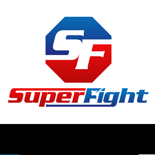Muay Thai design with the title 'SuperFight'