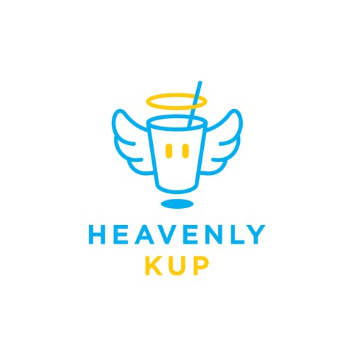 Japanese logo with the title 'Heavenly Kup - Slim Version'