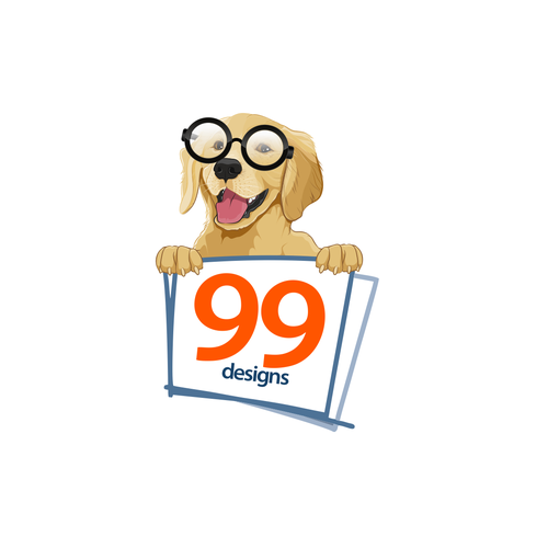 Realistic logo with the title '99 sticker'