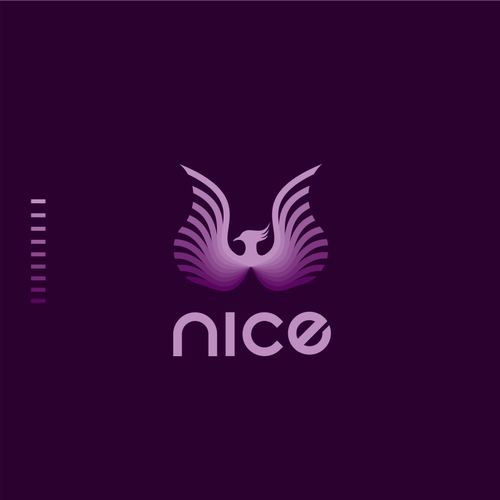 Patient logo with the title 'NICE - Logo for a Healthcare Company '