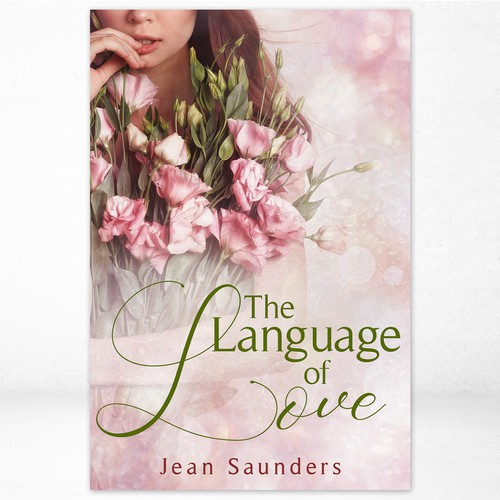 Romance book cover with the title 'The Language of Love - Women's fiction, Contemporary fiction'