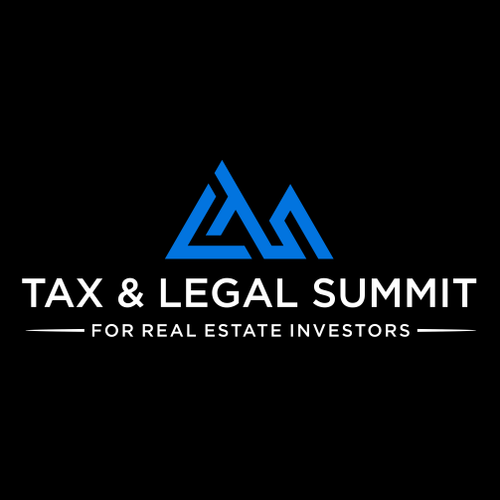 Summit design with the title 'Tax & Legal Summit'