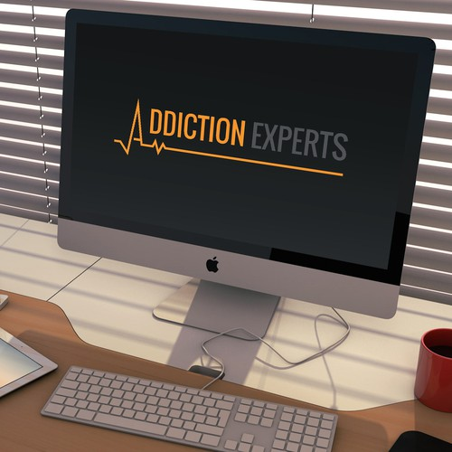Doctor logo with the title 'Addiction Experts - Logo design'