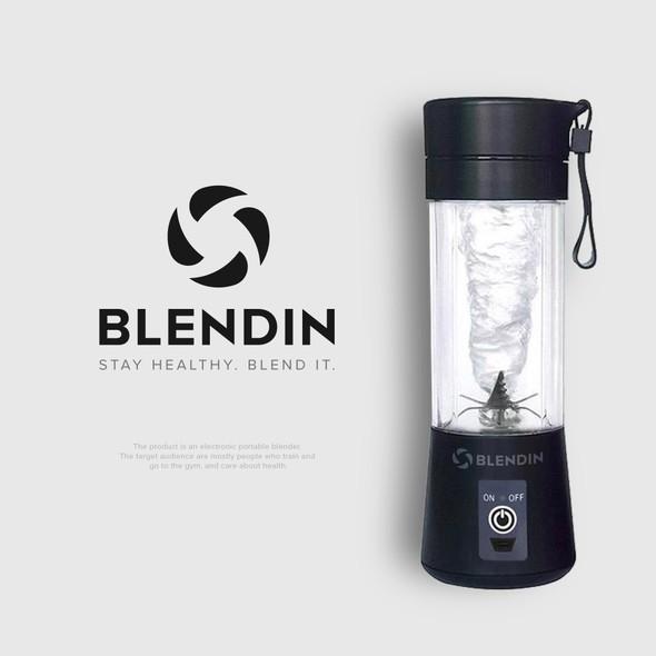 Blender logo with the title 'BLENDIN'