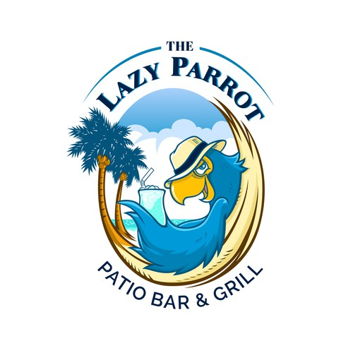 "Coco logo with the title 'Create a fun logo for a ""key West"" style sports bar with a large outdoor patio bar!'"