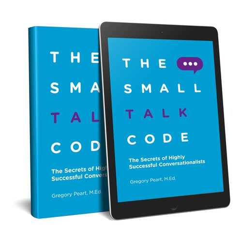 Quiet design with the title 'The Small Talk Code'