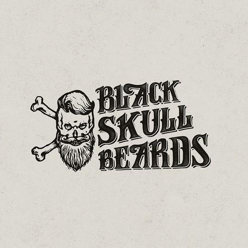 Beard oil logo with the title 'Logo concept'