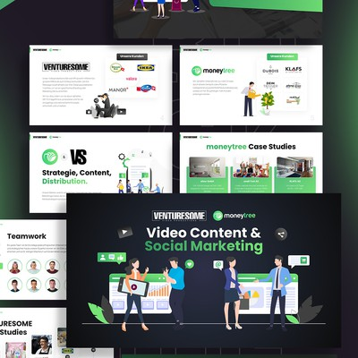 PowerPoint Presentation Design - Marketing