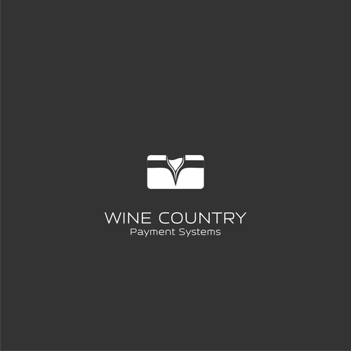 Monochrome brand with the title 'Process Money for People Who Sell Wine'