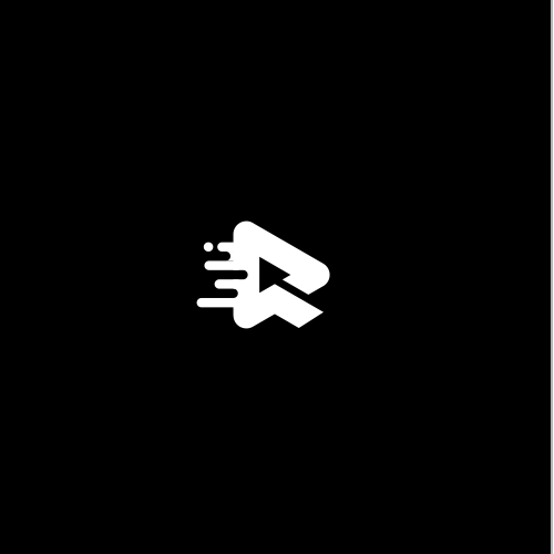 Industrial logo with the title 'R + fast mark'
