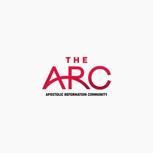 Arc logo with the title 'Literal interpretation of a community logo'