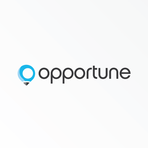 Route logo with the title 'Logo for Opportune'