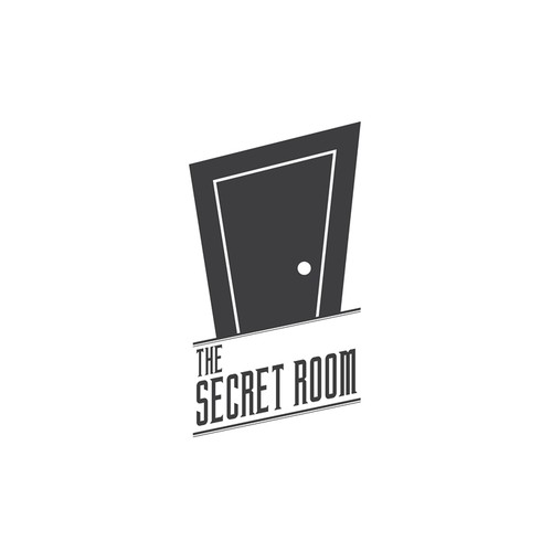 Room logo with the title 'Create a capturing describtive logo for escape room game'