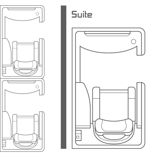 Seat design with the title 'Seat Map'