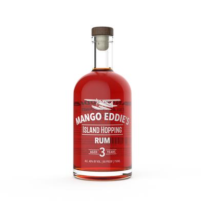 Mango Eddie's Rum Bottle Design