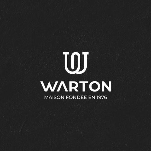 Plumbing logo with the title 'WARTON '