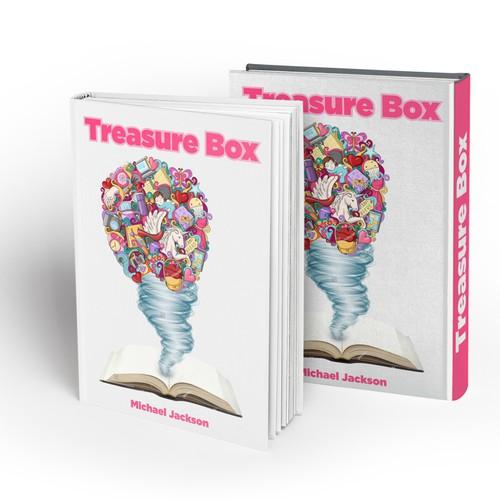 Tornado design with the title 'Treasure Box'