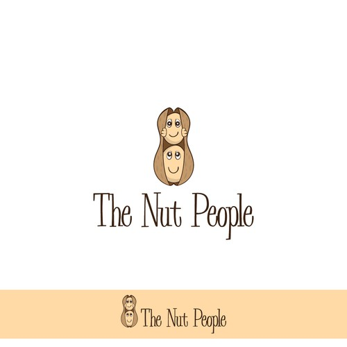 Nut logo with the title 'The Nut People'