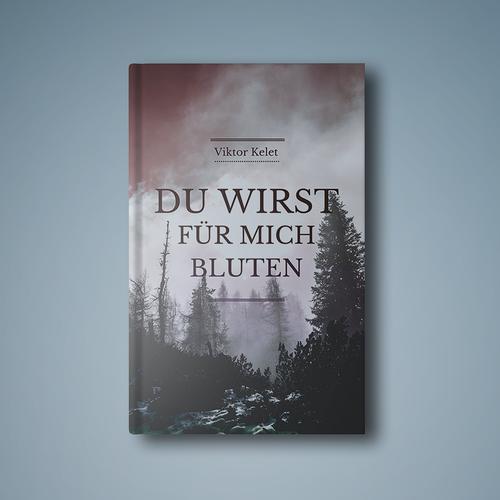 German book cover with the title 'Du Wirst Für Mich Bluten'