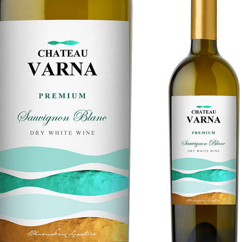 Winery design with the title 'Chateau Varna '