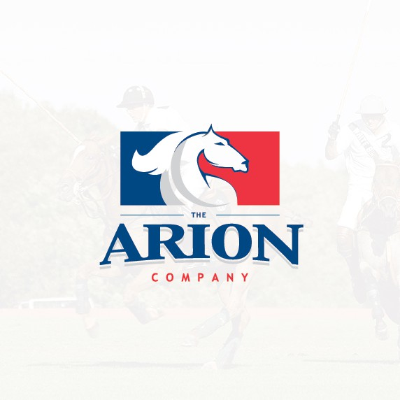 Horse racing design with the title 'Logo for Sports agency/financial services company'