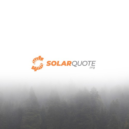 Quote design with the title 'Logo for SolarQuote.'