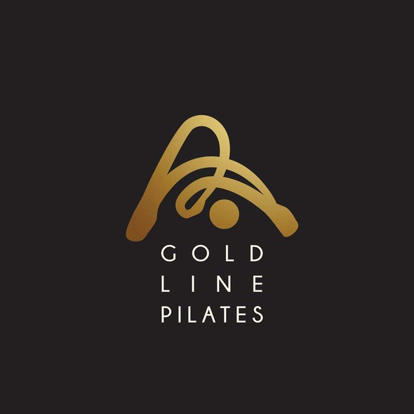 Shape brand with the title 'pilates  logo '