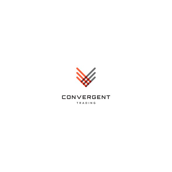Together design with the title 'Logo Design for Convergent Trading'