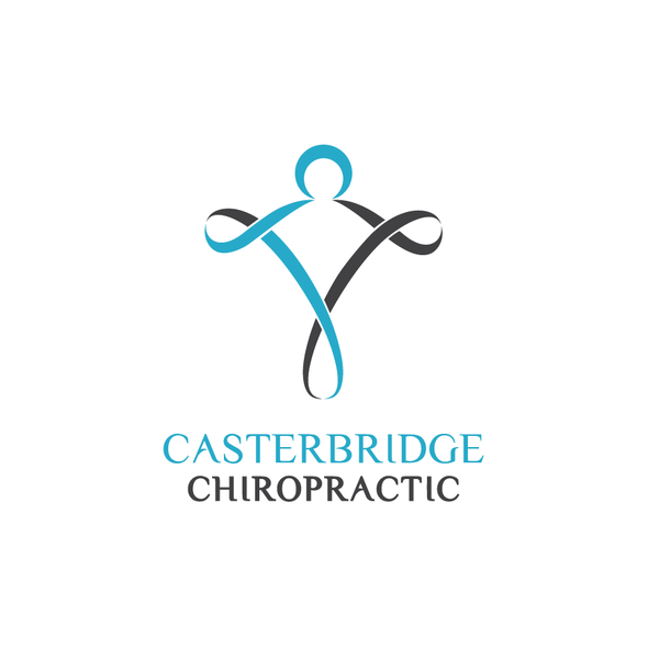 Figure logo with the title 'CasterBridge Chiropractic'