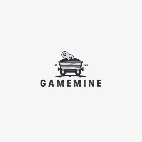 Train brand with the title 'GAMEMINE'