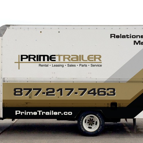 Sale design with the title 'primetrailer'