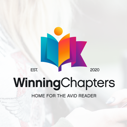 Reading logo with the title 'Logo designs for Winning Chapters'