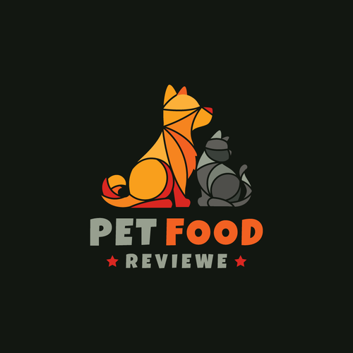 Tile design with the title 'Pet Food'
