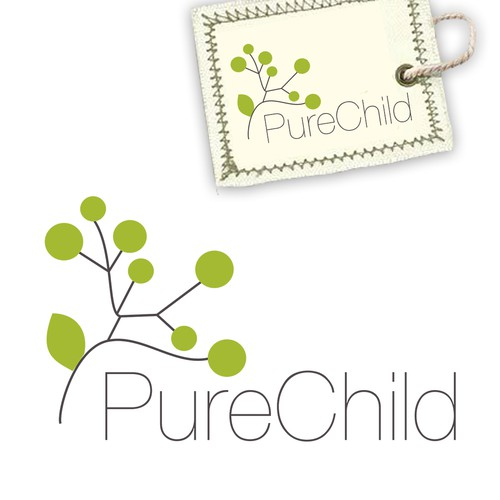 Cotton logo with the title 'Pure Child'