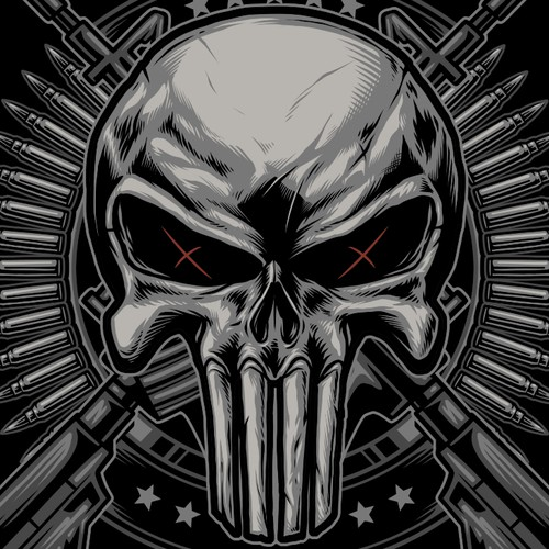 Horror t-shirt with the title 'Tactical Tshirt Design'