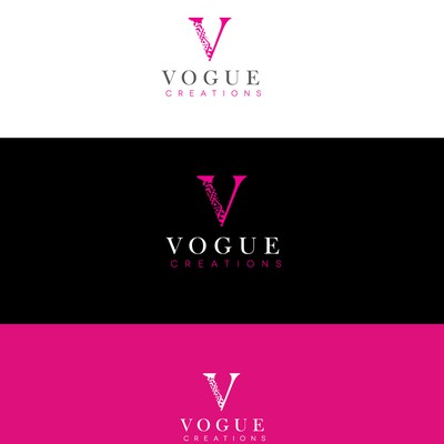 Logo for Vogue Creations