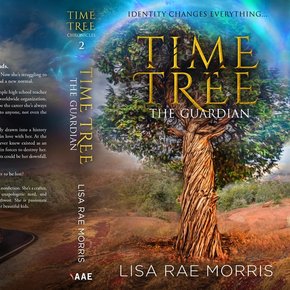 Time travel book cover with the title 'Time Tree Chronicles - The Guardian'