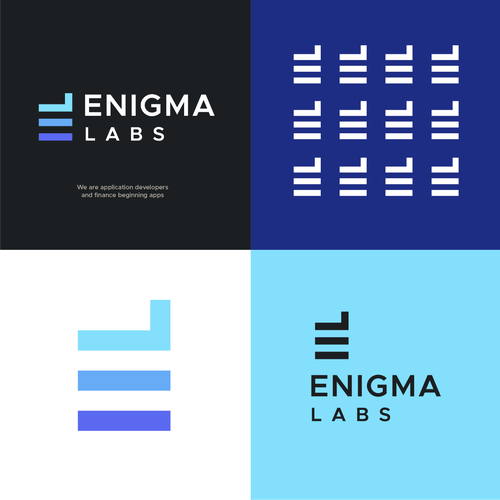 Technical design with the title 'Enigma Labs'
