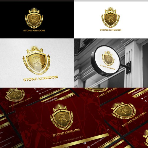 Kingdom design with the title 'Stone kingdom'