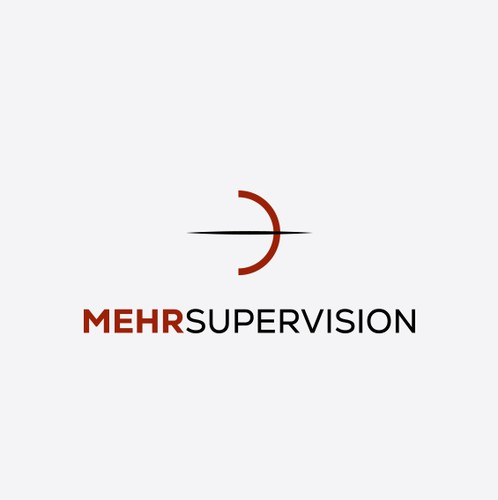 Bow design with the title 'MEHR SUPERVISION'