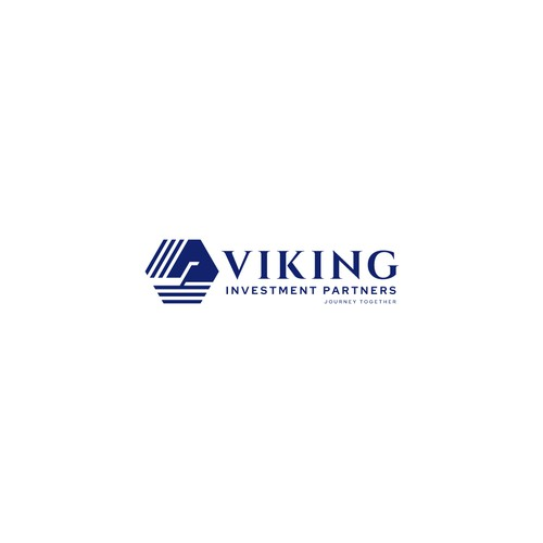 Ferry logo with the title 'Logo Design for Viking Investment Partners'
